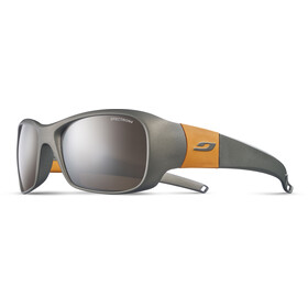 Julbo Junior 8-12Y Piccolo Spectron 4 Sunglasses Titanium/Orange-Gray Flash Silver